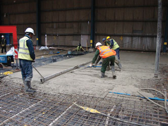 RIDHAM BUILDING PILED FLOOR SLAB